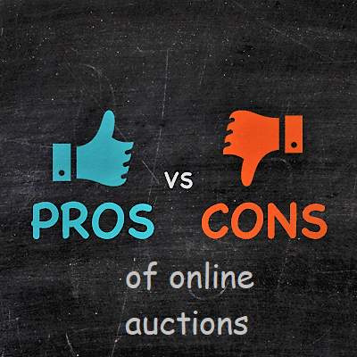 Pros and cons of online auctions