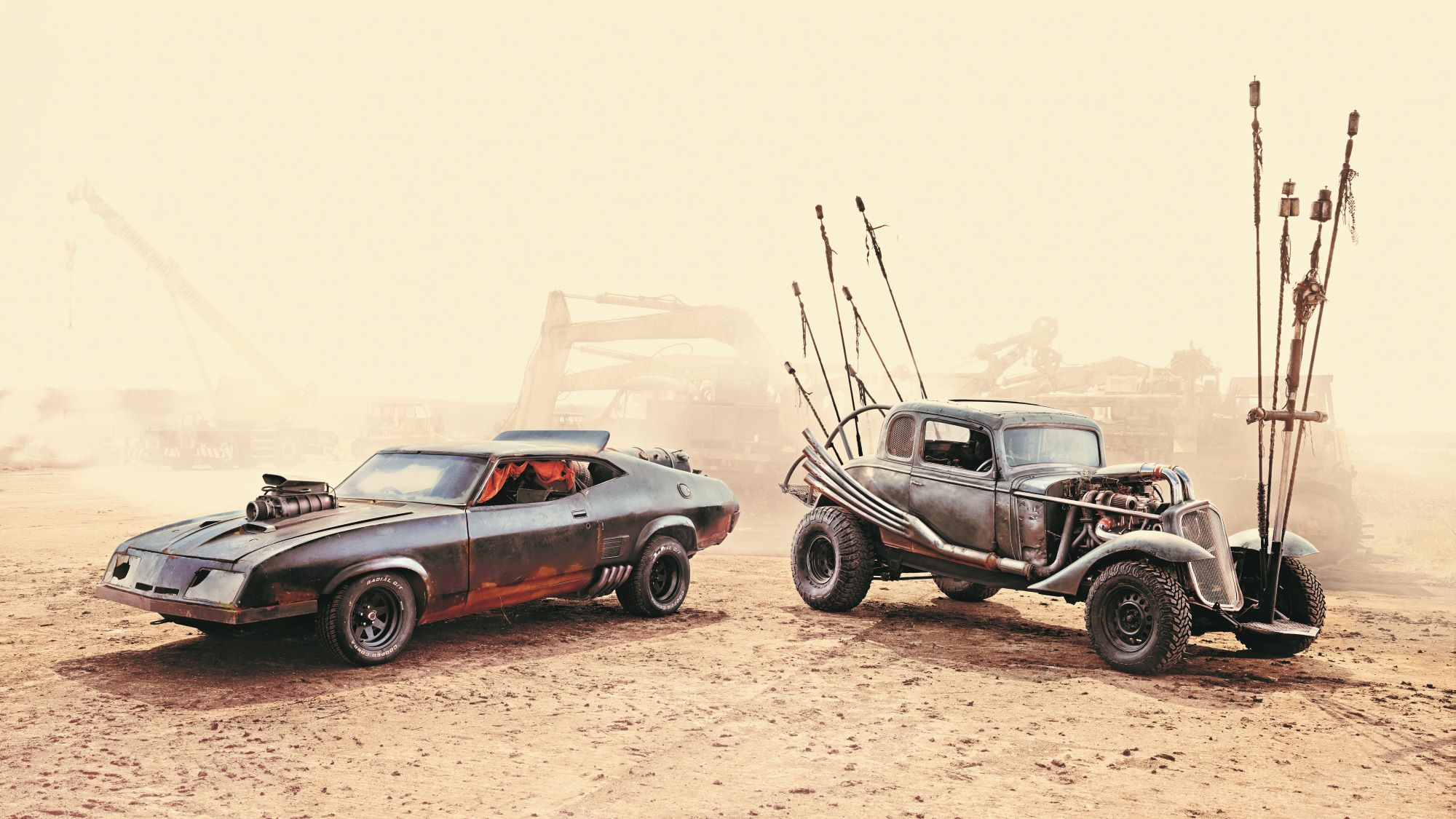 Iconic cars from Mad Max put up for auction